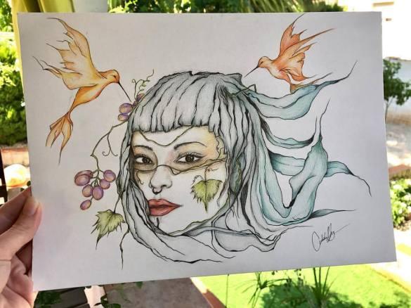 chica natura